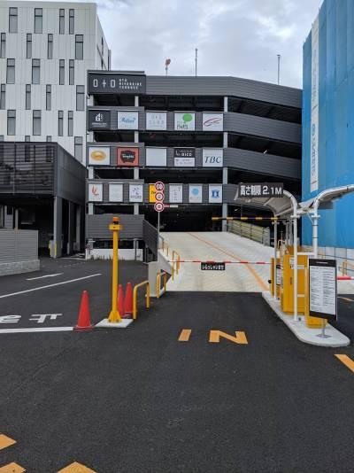 ホテル提携立体駐車場