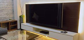 58型大型液晶TV(ブルーレイ対応デッキ)